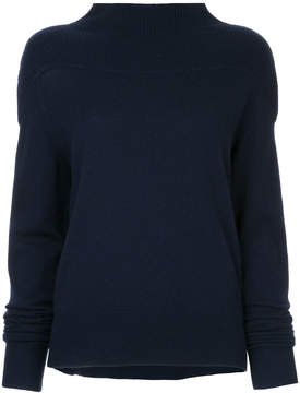 CHRISTOPHER ESBER ribbed turtleneck sweater