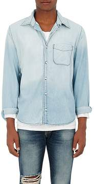 NSF Men's Faded Cotton Chambray Shirt.