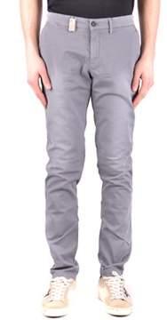 Mason Men's Grey Cotton Jeans.