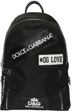 Dolce & Gabbana Love Nylon Backpack