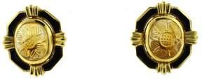 David Webb 18K Yellow Gold Citrine Earrings Clip