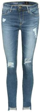AG Jeans Middi Ankle distressed jeans