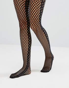 Emilio Cavallini Fishnet Side Seam Tights