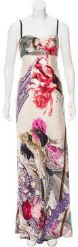 Christian Lacroix Silk Embellished Dress w/ Tags