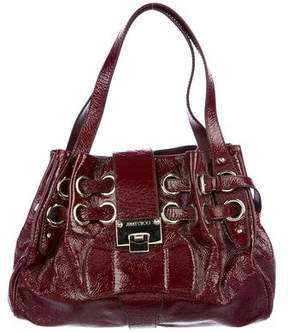 Jimmy Choo Riki Patent Leather Bag