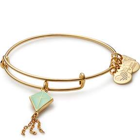 Alex and Ani Green Inspiration in Flight Charm Bangle