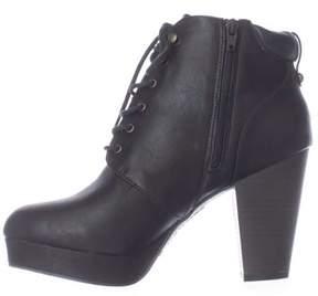 Material Girl Womens Rheta Closed Toe Ankle Fashion Boots.