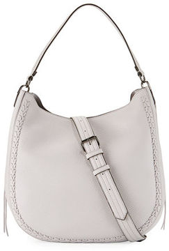 Rebecca Minkoff Convertible Pebbled Hobo Bag - PUTTY - STYLE
