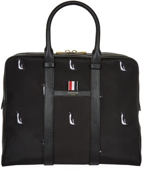 Thom Browne Small Penguin Holdall