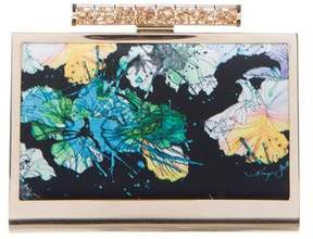 Monique Lhuillier Floral Sophia Clutch