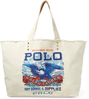 Ralph Lauren Eagle-Print Large Tote Bag