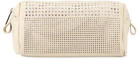 Neiman Marcus Perforated Cosmetics Bag