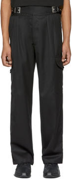 Kokon To Zai Black Quarter Trousers