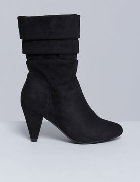 Lane Bryant Slouch Boot with Cone Heel