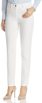 Basler High Waist Skinny Jeans in White