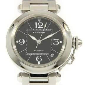 Cartier Pasha C W31076M7 Stainless Steel 35mm Mens Watch