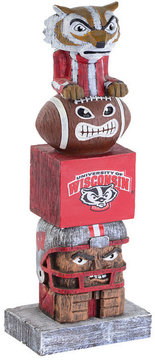 Evergreen Wisconsin Badgers Tiki Totem
