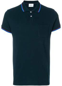 Dondup striped detail polo shirt