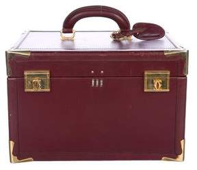 Cartier Vintage Le Must De Train Case Travel Bag