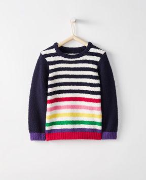 Hanna Andersson Marshmallow Stripe Sweater