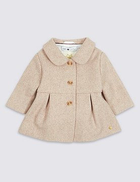 Marks and Spencer Wool Rich Coat