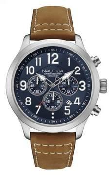 Nautica MEN'S WATCH NCC 01 CHRONO 45MM