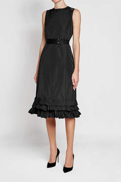 Brock Collection Dress with Ruffled Hem