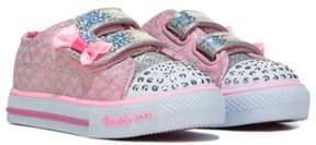 Skechers Kids' Shuffles Glitter Pop Sneaker Toddler