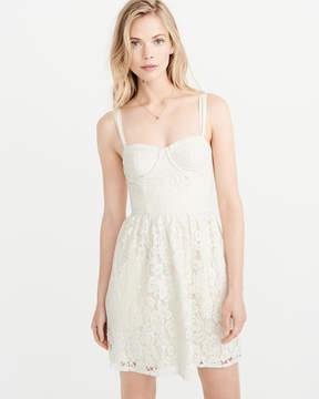 Abercrombie & Fitch Lace Corset Dress