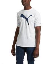 Puma Cat Logo Print Fill T-Shirt