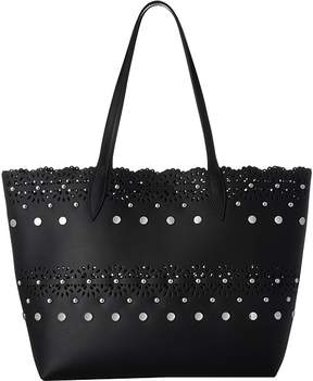 Rebecca Minkoff Structured Tote Tote Handbags - BLACK - STYLE