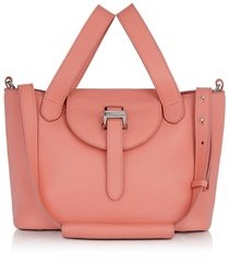 Meli-Melo Women's Pink Leather Handbag.
