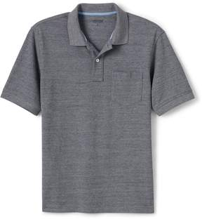 Lands' End Lands'end Men's Tall Mesh Short Sleeve Polo Shirt with Pocket