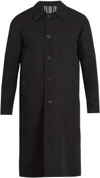 Burberry Hollins reversible weatherproof cotton overcoat