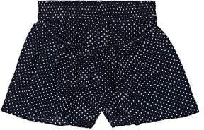 Little Remix Kids' Dotted Layered Plain-Weave Shorts