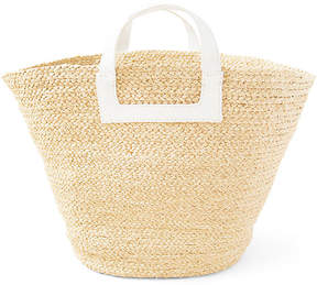 Tibi Braided Bag - Natural/White - Indego Africa