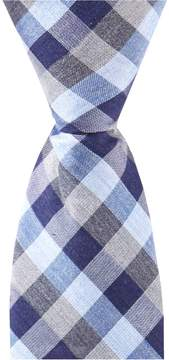 Class Club Gold Label 14 Muted Box Plaid Tie