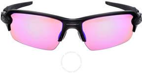 Oakley Flak Asia Fit Sport Sunglasses - Black Ink/Prizm Golf
