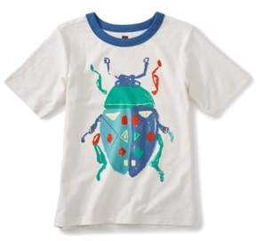 Tea Collection Beetle Graphic T-Shirt