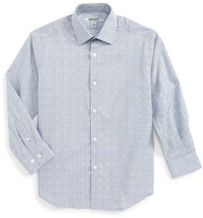 DKNY Boy's Check Dress Shirt