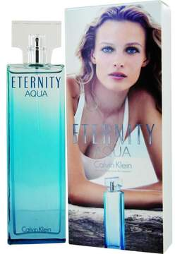 Eternity Aqua by Calvin Klein Eau de Parfum Spray for Women 3.4 oz.