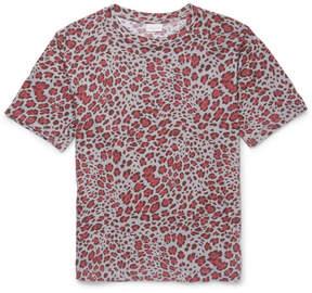 Dries Van Noten Hogan Leopard-Print Cotton-Jersey T-Shirt