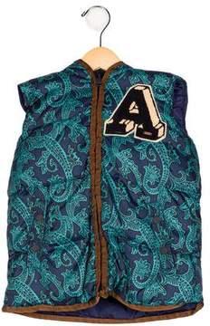 Scotch Shrunk Boys' Hooded Puffer Vest w/ Tags