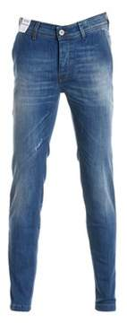 Re-Hash Men's Blue Cotton Jeans.