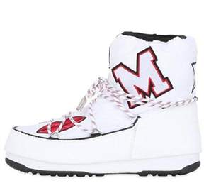 MSGM White Moon Boots