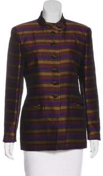 Christian Dior Stripe Pattern Jacket