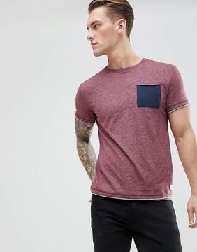 Esprit T-Shirt With Contrast Pocket