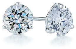 Kwiat Women's 1Ct Tw Diamond & Platinum Stud Earrings