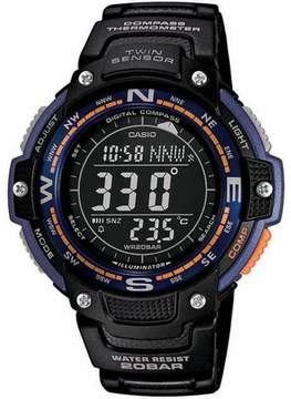Casio Men's Twin Sensor Compass Watch, Black