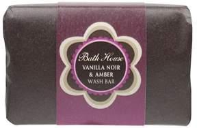Bath House Vanilla Noir and Amber Wash Bar by 150g Shower Gel)